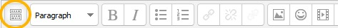 toolbar toggle icon