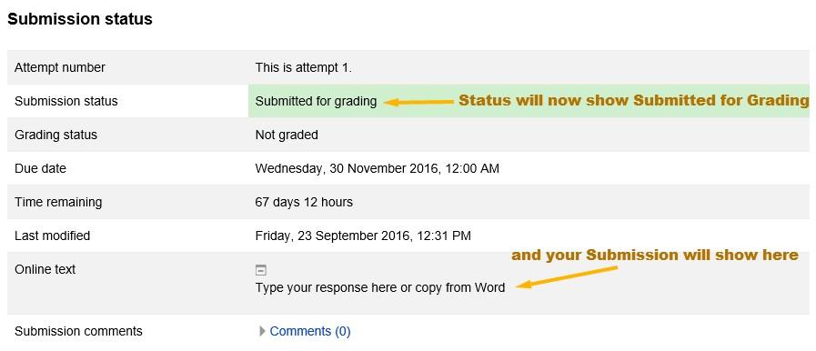 Online Text Assignment