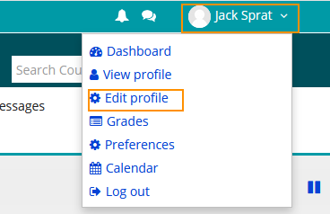 Editing you COTROnline Profile