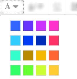 Font Colour Picker icon
